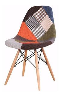 Silla Eames Patchwork - Tapizado De Parches