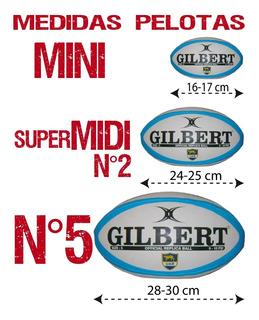Pelotas Rugby Gilbert Originales
