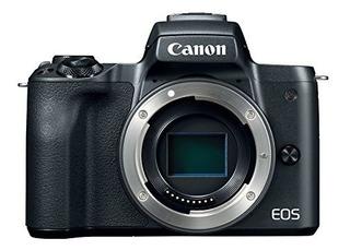 Canon Eos M50 Mirrorless Camera Body W 4k Video (black)