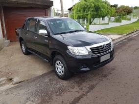 Toyota Hilux Dx 2.5 4x2 Aire Direccion 2012 215000 Km