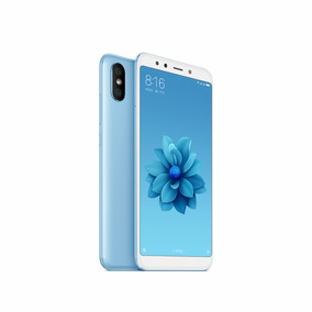 Celular Xiaomi Mi A2 64gb 4gb Blue Dual Sim Zonatecno