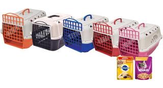Jaulas Transportadora Perros/gatos + Salsa Y Envío S/cargo