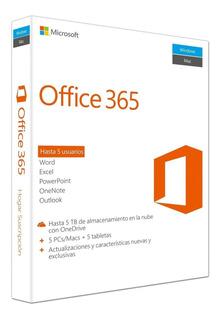 Office 365 Original Licencia Vitalicia Windows/mac Sticker