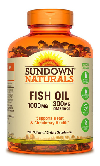 Sundown Naturals Fish Oil 1000mg
