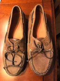 Zapatos Timberland De Cuero Legítimo Talle 8