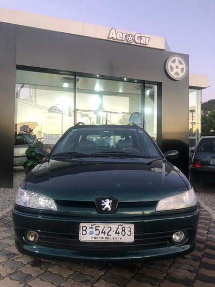 Peugeot 306 Break Extra Full 2001 Impecable Estado Aerocar