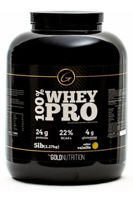 Proteina Whey Protein 100% Whey Pro Gold Nutrition 5 Lb