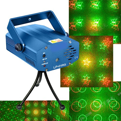 Luz Disco Laser Audioritmicas R26-3 Circuit