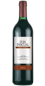Vino Don Pascual Tannat Merlot 187 Ml - Alvear -