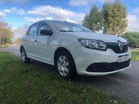 Renault Logan Authentique 2017 1 Dueño Imp Estado Aerocar