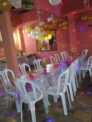 Salon Completo Fiesta De Fin De Año Con Shoow