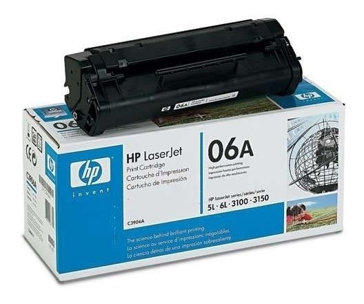 Cartucho Toner Hp C3906a Laserjet Series 5l 6l 3100 3150