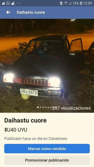 Daihatsu Cuore Cuore Charade Del 82