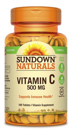 Vitamina Sundown Vitamina C 500 Mg 100 Cápsulas