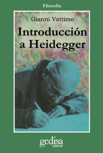 Introduccion A Heidegger/ Introduction To Heidegger Gianni V