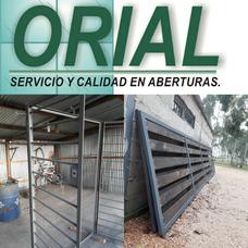 Rejas Puertareja Herrería En Gral. Chapas, Hierros Orial.