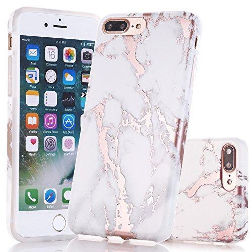 222b1e83a2d Carcasa Protectora C/diseño Mármol/oro P/apple iPhone 7 Plus - $ 1.066,00  en Mercado Libre