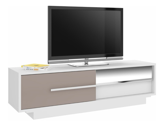 Rack Para Tv Modular Led Lcd Mesa Living Mueble Espejo