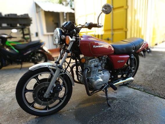 Kawasaki Kz 440 O Z440. Vintage Naked Clasica Colección