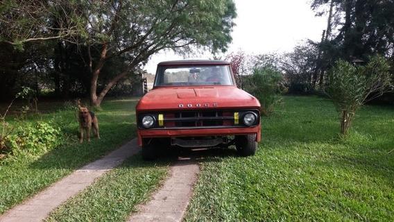 Dodge Dofge D100 1969 D100 Sweptline