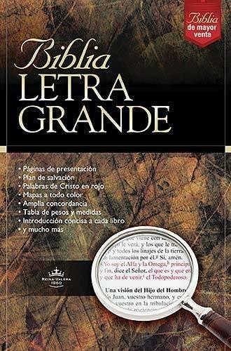 Biblia Letra Grande-rv 1960 Rvr 1960- Reina Valera 1960