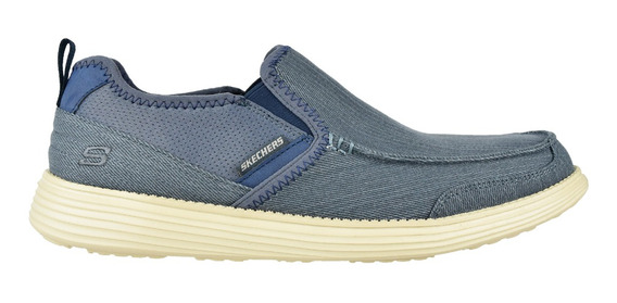 Zapato Casual Skechers Relaxed Fit Status Delton Navy - Toto