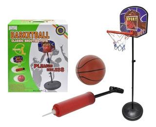 Tablero De Basket Con Pie 1070-cx40b-12 - El Clon