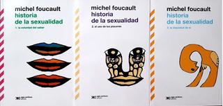 Historia De La Sexualidad - Pack 3 Tomos / Michel Foucault