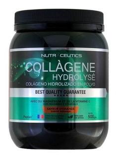 Colageno Hidrolizado Nutraceutics 500g Con Magnesio Y Vit C