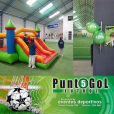 Canchas De Fútbol 5 Con Parrillero Para Eventos