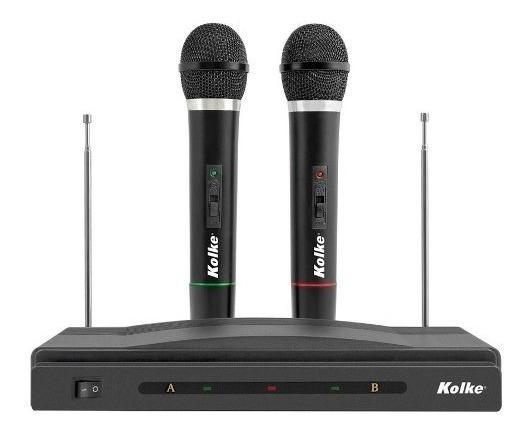 Set De Micrófonos Inalámbricos Karaoke Con Receptor En Loi