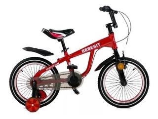 Bebesit Bicicleta R12 Canyon Bk001 Roja Flaber