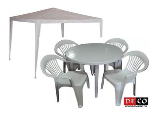 Gazebo Veranda - Muebles de Jardín en Mercado Libre Uruguay