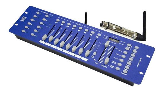 Controlador Dmx Con Sistema Inalambrico Incorporado Gcm Pro