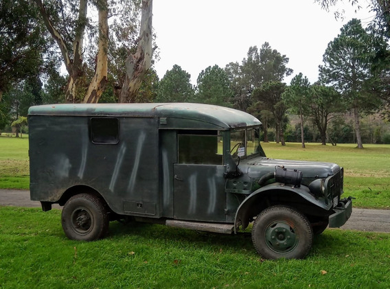 Dodge M43 Militar Diesel. Jeep M725 4x4 Motorhome.permuto Cj