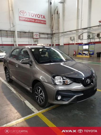 Toyota Etios Xls 2018 Gris Oscuro 0km