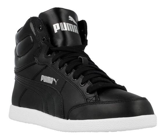 Puma Ikaz Mid Color Negro De Dama Del 38, 39 Y 41