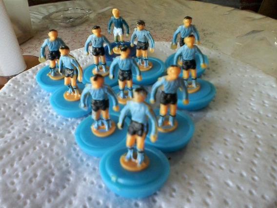 Muñecos Miniatura Retro Seleccion Uruguay Lote X 11 Unid.