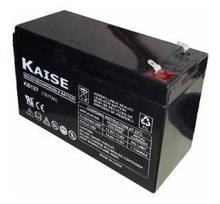 Bateria De Gel 12v 7ah (paneles De Alarmas U Otros Usos)