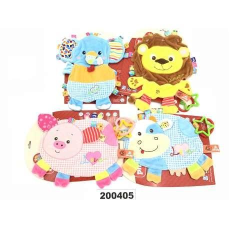 Trapito De Apego 4 Animales 200405 - Bebés Y Niños