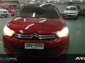 Citroën C4 C 4 N 2 1.6 2013 Rojo Excelente Estado