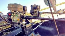 Pata Puyer Con Motor 13 Hp Arranque Manual Y Eléctrico