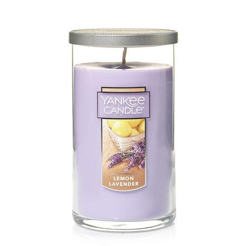 Vela Aromática Perfect Pillar Lemon Lavender Yankee Candle