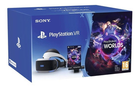 Lentes Realidad Virtual Playstation 4 Ps4 Vr + Worlds Laaca