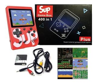 Consola Video Game Portatil C/400 Juegos Bateria Recargable!