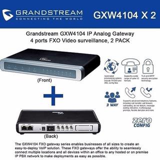 Grandstream Gxw-4104 Gateway Analógico Fxo De 4 Ports
