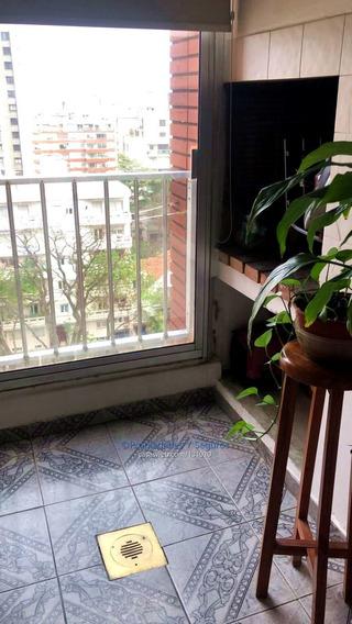 Vende Pocitos Apartamento 3 Dormitorios, Parrillero Y Box