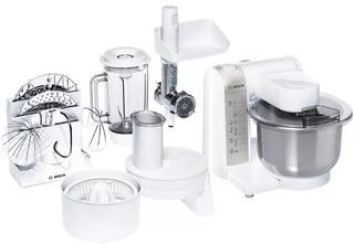 Robot De Cocina Blanco Bosch - Tecnológico