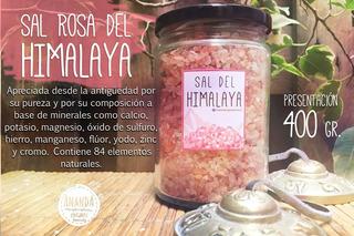 Sal Rosa Del Himalaya. Sales Marinas Comestibles Y Medicinal