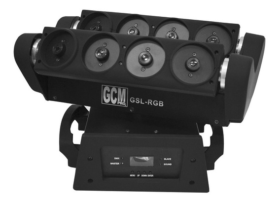 Cabeza Movil Spider Laser Gsl-rgb Alta Potencia Y Exclusivi